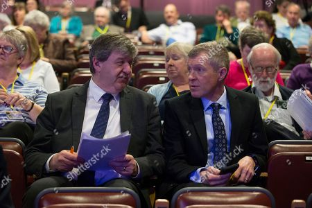 Stock Picture of Alistair Carmichael MP and Willie Rennie MSP, Leader of the Scottish Liberal Democrats