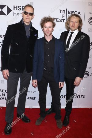 Christopher Heyerdahl, Mark Rendall and Ian Matthews