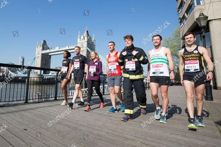 Editorial image of Virgin Money London Marathon photocall, London, UK - 20 Apr 2018