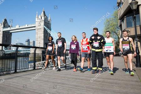 Editorial photo of Virgin Money London Marathon photocall, London, UK - 20 Apr 2018