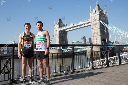 David Wyeth, Matthew Rees, Kathrine Switzer, Stephen's Team running for the Stephen Lawrence Charitable Trust (Magnus Menzefricke and Selam Amare plus Sonia Watson), Michael Watson and others