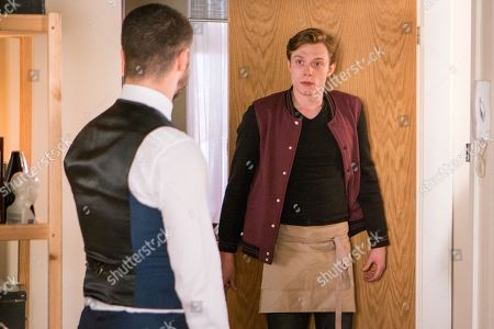 Ep 9454 Friday 11th May 2018 - 2nd Ep Adam Barlow, as played by Sam Robertson, takes Niamh back to the flat for an afternoon of sex but his plan is thwarted when Flora, as played by Eileen Davies, emerges. Adam's unimpressed as Daniel Barlow, as played by Rob Mallard, explains Flora will be staying with them until the council find her a better care home.