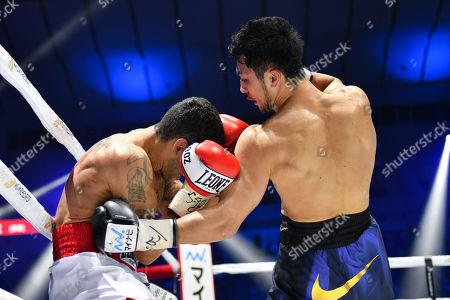 Editorial photo of Ryota Murata v Emanuele Felice Blandamura, WBA middleweight boxing match, Yokohama Arena, Kanagawa, Japan - 15 Apr 2018