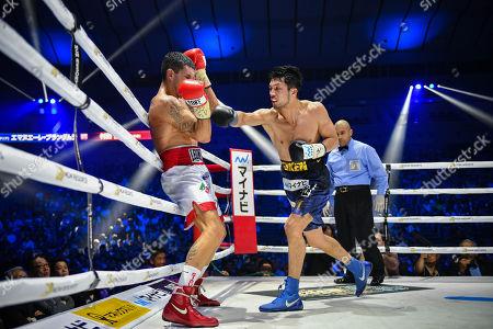 Editorial image of Ryota Murata v Emanuele Felice Blandamura, WBA middleweight boxing match, Yokohama Arena, Kanagawa, Japan - 15 Apr 2018