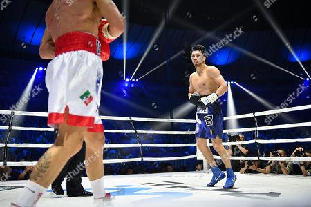 Editorial picture of Ryota Murata v Emanuele Felice Blandamura, WBA middleweight boxing match, Yokohama Arena, Kanagawa, Japan - 15 Apr 2018
