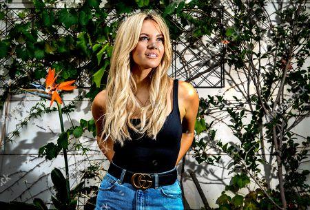 Editorial photo of Australian singer-songwriter Samantha Jade, Sydney, Australia - 04 Apr 2018