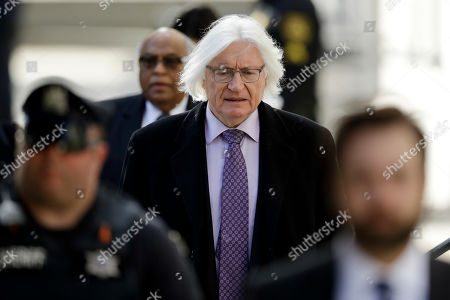 Attorney Tom Mesereau arrives for Bill Cosby's sexual assault trial, at the Montgomery County Courthouse in Norristown