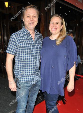 Shaun Dooley and Polly Cameron