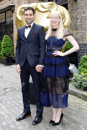 Alex Hassell and Emma King