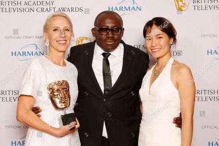 Michelle Clapton - Costume Design - Game of Thrones - presented by Edward Enninful with CARAT London sponsor representative
