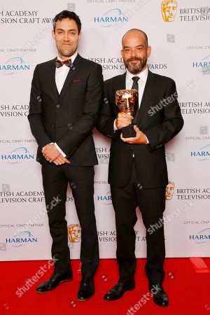 Editorial photo of British Academy Television Craft Awards, Press Room, London, UK - 22 Apr 2018