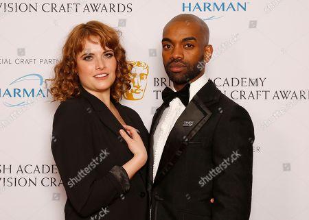 Hannah Britland and Jaygann Ayeh