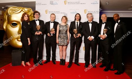 Chris Ashworth, Lee Walpole, Stuart Hiliker, Martin Jensen and Sound Team - Sound: Fiction - The Crown - presented by Hannah Britland and Jaygann Ayeh