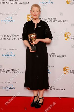 Editorial picture of British Academy Television Craft Awards, Press Room, London, UK - 22 Apr 2018