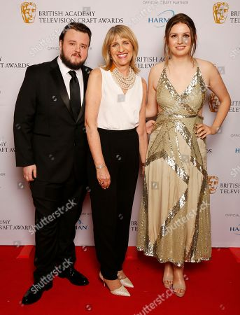 John Bradley and Hannah Murray - Special Award - Game of Thrones presented by Jane Lush