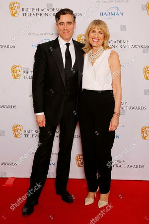 Stephen Mangan and Jane Lush