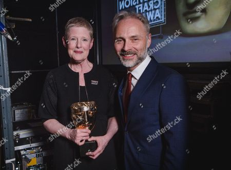 Stock Picture of Philippa Lowthorpe - Director: Fiction - Three Girls - presented by Mark Bonnar