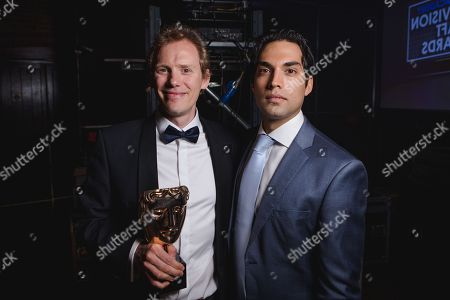Editorial image of British Academy Television Craft Awards, Backstage, London, UK - 22 Apr 2018
