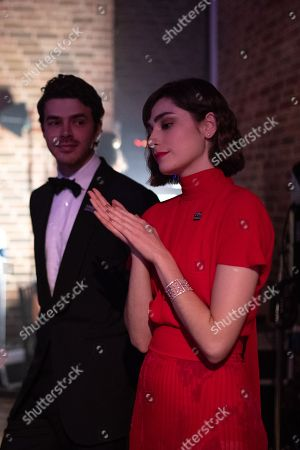 Harry Richardson and Ellise Chappell