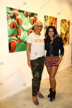Natascha Ochsenknecht and Fernanda Brandao