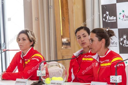 Maria Jose Martinez, Garbine Muguruza and Anabel Medina