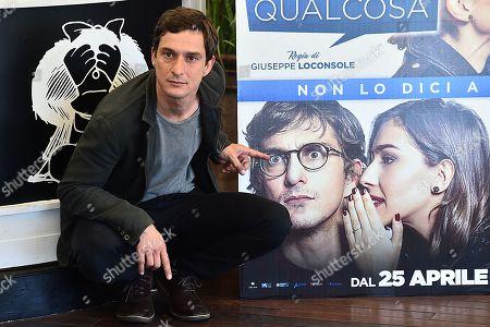 Editorial image of 'Tu Mi Nascondi Qualcosa' film premiere, Rome, Italy - 20 Apr 2018