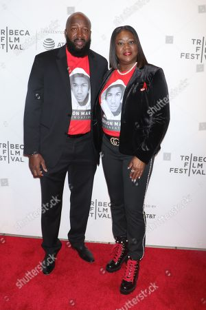 Tracy Martin and Sybrina Fulton, Trayvon Martin's father and mother