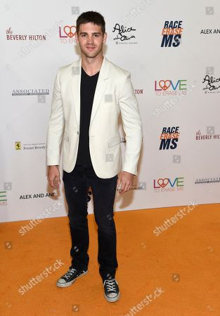 Steven R. McQueen arrives at the 25th annual Race to Erase MS Gala at The Beverly Hilton hotel, in Beverly Hills, Calif