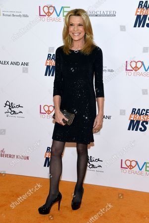 Vanna White arrives at the 25th annual Race to Erase MS Gala at The Beverly Hilton hotel, in Beverly Hills, Calif