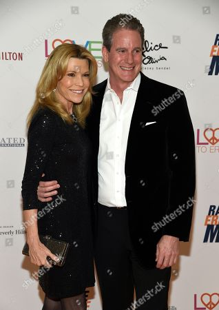 Vanna White, John Donaldson. Vanna White, left, and John Donaldson arrive at the 25th annual Race to Erase MS Gala at The Beverly Hilton hotel, in Beverly Hills, Calif