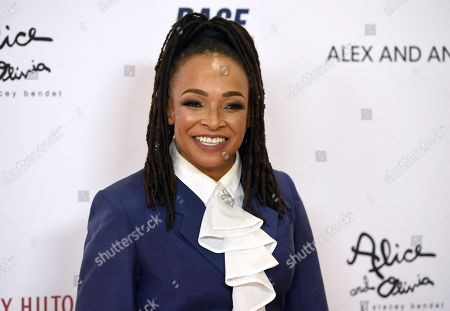 Siedah Garrett arrives at the 25th annual Race to Erase MS Gala at The Beverly Hilton hotel, in Beverly Hills, Calif