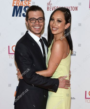 Matthew Lawrence, Cheryl Burke. Matthew Lawrence, left, and Cheryl Burke arrive at the 25th annual Race to Erase MS Gala at The Beverly Hilton hotel, in Beverly Hills, Calif