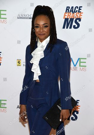 Stock Picture of Siedah Garrett arrives at the 25th annual Race to Erase MS Gala at The Beverly Hilton hotel, in Beverly Hills, Calif