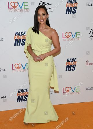 Cheryl Burke arrives at the 25th annual Race to Erase MS Gala at The Beverly Hilton hotel, in Beverly Hills, Calif
