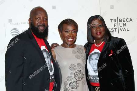 Tracy Martin, Joy Reid and Sybrina Fulton