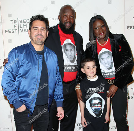 Editorial picture of 'Rest In Power: The Trayvon Martin Story' premiere, Tribeca Film Festival, New York, USA - 20 Apr 2018