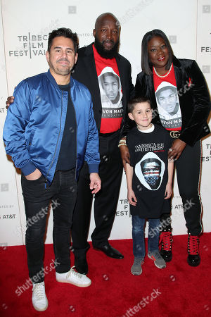 Editorial image of 'Rest In Power: The Trayvon Martin Story' premiere, Tribeca Film Festival, New York, USA - 20 Apr 2018