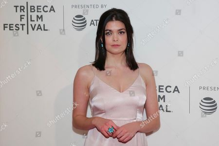 """Samantha Colley attends a screening of """"Picasso"""" at the BMCC Tribeca PAC during the 2018 Tribeca Film Festival, in New York"""