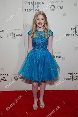 "Violet Young attends a screening of ""Picasso"" at the BMCC Tribeca PAC during the 2018 Tribeca Film Festival, in New York"