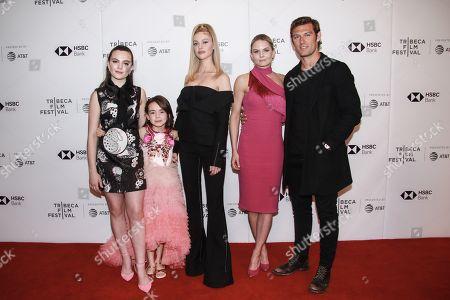 Chiara Aurelia, Hala Finley, Nicola Peltz, Jennifer Morrison and Alex Pettyfer