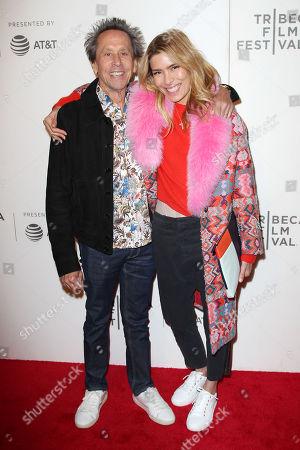 Veronica Smiley and Brian Grazer (Exec. Producer)