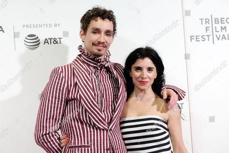 Robert Sheehan and Maria Jose Bavio