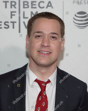 """T.R. Knight attends a screening of """"Picasso"""" at the BMCC Tribeca PAC during the 2018 Tribeca Film Festival on in New York"""