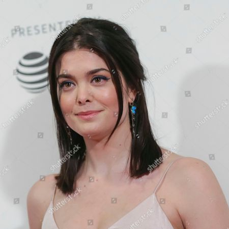 """Samantha Colley attends a screening of """"Picasso"""" at the BMCC Tribeca PAC during the 2018 Tribeca Film Festival on in New York"""