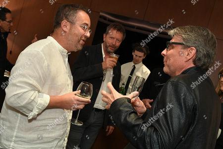 Dan Brill, Paul Crewes and Zoltan Pali