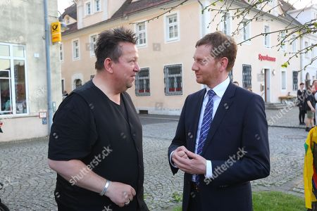 Sebastian Krumbiegel, Ministerpräsident Michael Kretschmer