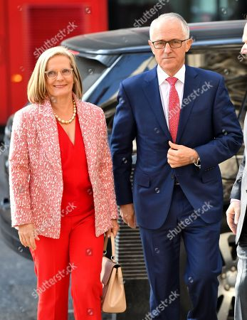 Lucy Turnbull and Malcolm Turnbull