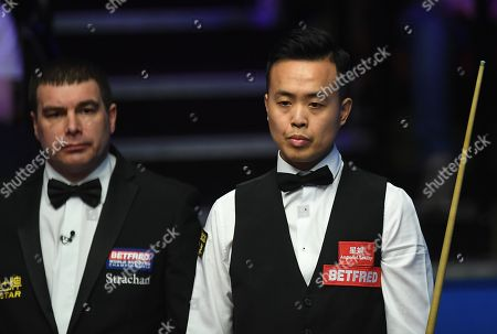 Editorial image of Betfred World Snooker Championship, Day One, The Crucible Theatre, Sheffield, UK, 21 Apr 2018