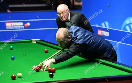 Graeme Dott of Scotland during his first round match