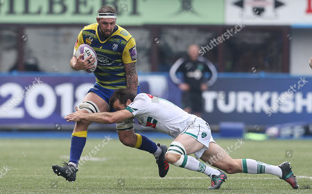 Editorial image of Cardiff Blues v Pau - European Rugby Challenge Cup Semi Final - 21 Apr 2018